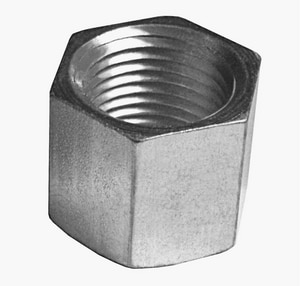 Billco Threaded Galvanized Steel Cap GSHCAP