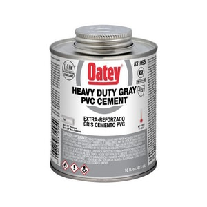Oatey PVC Heavy Duty Cement Gray O31095