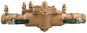 Watts Bronze NPT Reduced Pressure Zone Backflow Preventer with Heavy Duty Lever W009M2QT