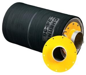 Cherne Big-Mouth® Pneumatic Test Plug in Black C2698