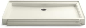 Kohler Memoirs® 60 x 34 in. Acrylic Triple Threshold Rectangle Shower Base with Rear Center Drain K9568