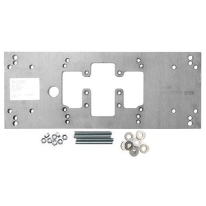 Haws 18 x 7 in. Single Fountain Mounting Plate H6700