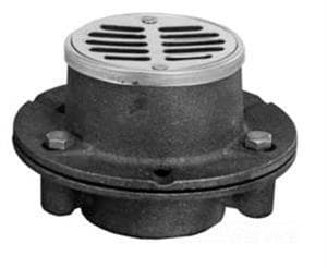 Plumbing Products 2 in. No-Hub Cast Iron Shower Drain P4NH