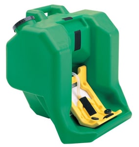 Haws Portable Eye Wash Fountain in Green H7500