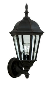 Craftmade International Straight Glass 7 in. Depth 100 W 1-Light Medium Lantern CZ31605