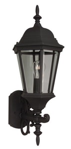 Craftmade International Straight Glass 100 W 1-Light A Lantern CZ250