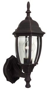 Craftmade International Bent Glass 100W 1-Light Medium E-26 Halogen Wall Lantern CZ260