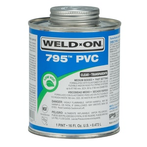 Weld-On PVC Flex/Rigid Medium Body Cement I10281