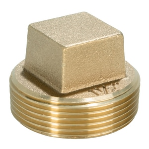 Weld-On 1-1/2 in. Cleanout Brass Plug IPS68600