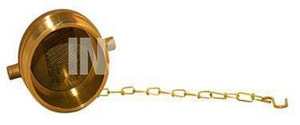 Fire Protection Products National Standard Thread Plug And Chain Brass F0745000