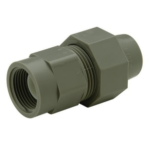 Qest Qicktite® 1 x 3/4 in. CTS x FPT Reducing Plastic Compression Adapter Assembly QQAFA54F