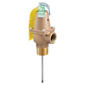 Watts Series 240 1-1/4 in. Bronze Male Threaded x Female Threaded 150# 210 Relief Valve WN241150210H