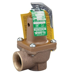 Watts 94 psi Relief Valve W474AM2125