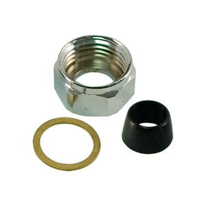 Lincoln Products® Brass Faucet Nut Chrome LIN101602