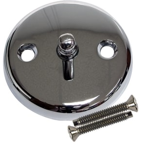 Lincoln Products® Trip Lever Waste and Overflow Face Plate Polished Chrome LIN102102