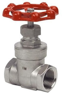 FNW 200# Stainless Steel Threaded Non-Rising Stem Gate Valve FNW15B200