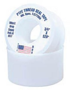 William H. Harvey 3/4 in. Domestic PTFE Tape H017564144
