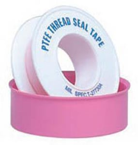 William H. Harvey 1/2 in. PTFE Tape in Pink H017610B