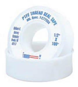 William H. Harvey 1/2 in. Domestic PTFE Tape H017508144