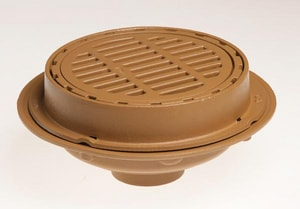 Jay R. Smith Manufacturing No-Hub Floor Drain with Cast Iron Top S2230Y