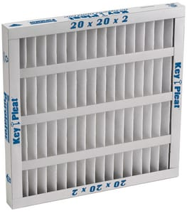 Clarcor Air Filtration Products 20 x 25 x 4 in. Pleated Air Filter CFME4020254