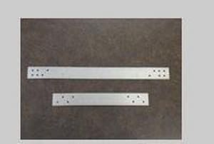 Metal Products 1-1/2 in. 16 ga Plate Strap Black B16GAPSJ
