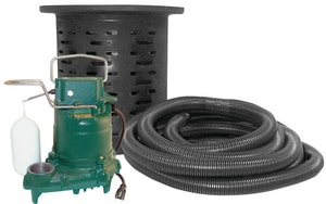 Zoeller Crawl Space Sump Pump with Kit Z1080001