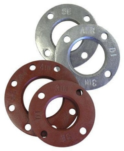 FNW IPS Galvanized Ductile Iron Back-Up Flange FNWGDIAFRBUFIPS