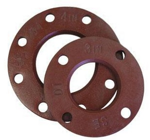 FNW IPS Painted Ductile Iron Back-Up Flange FNWPDIBUFIPS