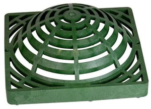 National Diversified Sales 12 x 12 in. Atrium Grate Green N1280