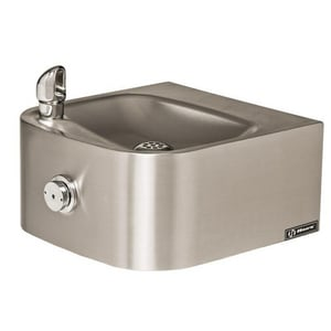 Haws Stainless Steel Single Wall Mount Drinking Fountain HAW1105