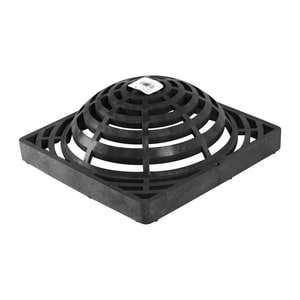 National Diversified Sales 9 x 9 in. Atrium Grate Black N981