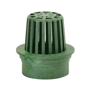 National Diversified Sales Flat Top Polyolefin Atrium Grate Green N70