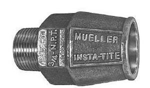 Mueller Industries MIP x IPS Brass Coupling MH15426