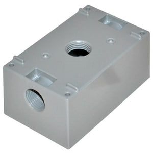 Motors & Armatures 1 gal Box Outlet with 3-Hole MAR85902