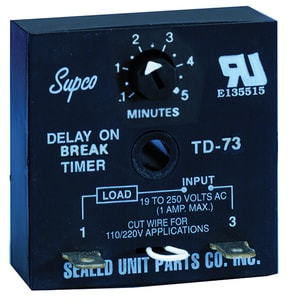 Supco Adjustable Time Delay STD73