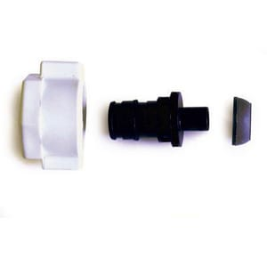 Uponor North America ProPEX® 1/2 x 1/2 in. Plastic Swivel Closet Adapter UQ4340500