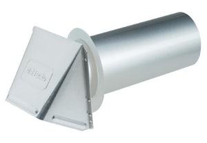 Deflecto Aluminum Dryer Vent Hood DDAVHA412