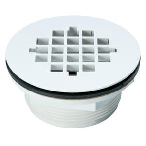 Weld-On 2 in. ABS No-Caulk Shower Drain I67021