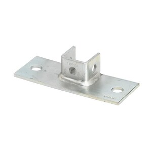 Cooper B-Line Plated Post Base For B22 BB279FL