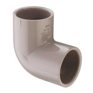 Slip PVC 90 Degree Elbow S4060