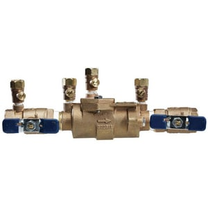 Febco Series 850 3/4 in. Bronze NPT 175 psi Backflow Preventer F850QTF