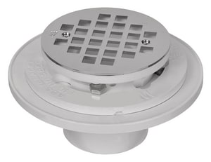 Weld-On Water Tite 2 x 3 in. PVC Heavy Duty Floor/Shower Drain I85990