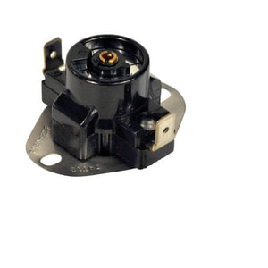 Motors & Armatures 90-130 Degree Adjustable Fan Thermostat Switch in Black MAR39205