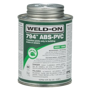 Weld-On PVC Multi-Purpose Medium Body Cement in Green I1027