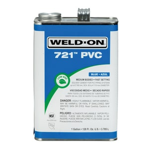 Weld-On PVC Medium Cement Blue I10160