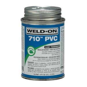 Weld-On PVC Light Duty Cement in Clear I1011