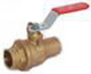 Red-White Valve Figure 5049F Brass Full Port Solder 600# Ball Valve R5049F