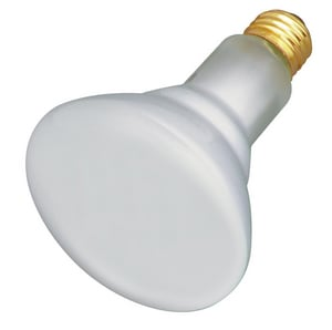 Satco 65W BR30 Dimmable Incandescent Light Bulb with Medium Base SS4887