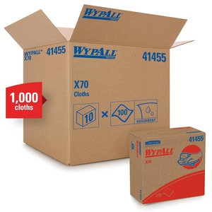 Kimberly Clark WypAll® X70 Workhorse Pop-Up Box K41455